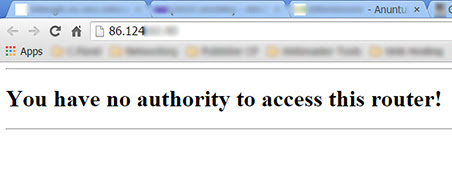 You have no authority to access this router TP Link TL WR841N 1 You have no authority to access this router