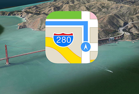 apple maps harta gps aplicatie Apple Maps este un gunoi!