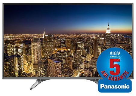 Televizor LED Smart UltraHD 124cm PANASONIC VIERA TX 49DXU601 Recomandare televizor de Black Friday 2016