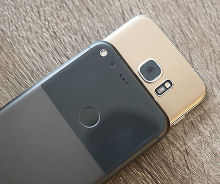 pixel xl vs galaxy s7 edge cameras Test de viteza: Google Pixel XL vs Samsung Galaxy S7 Edge