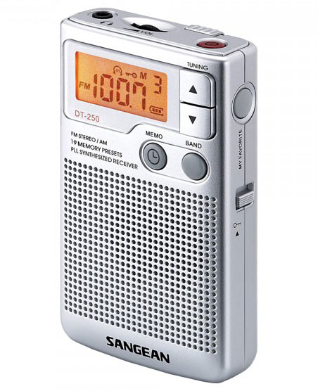 Aparat radio portabil digital AM FM Sangean DT 250 3 Sangean DT 250 review