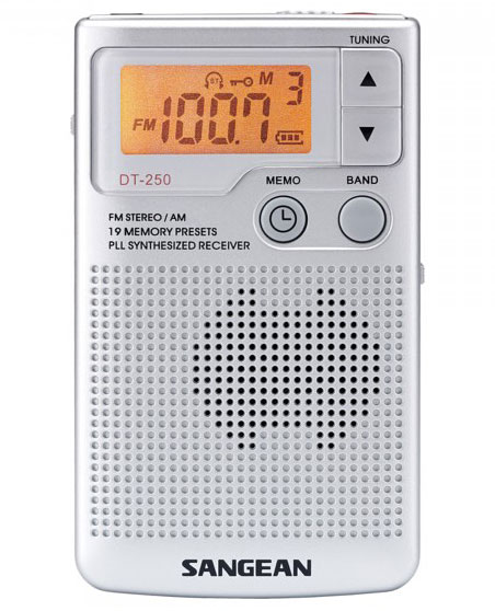 Aparat radio portabil digital AM FM Sangean DT 250 4 Sangean DT 250 review