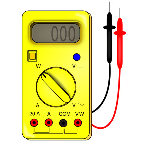multimeter aparat masura multimetru digital Wh to mAh Converter